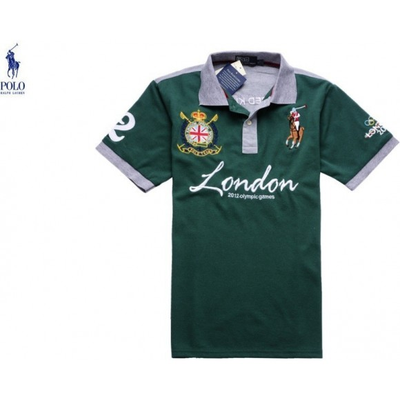 Polo Ralph Lauren Olympic Game London 2012 Polo In Green